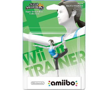 """amiibo"" Wii Fit Trainer [Super Smash Bros Коллекция]"