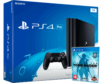 Sony PlayStation 4 PRO 1TB Black (CUH-7008B) + Rise of the Tomb Raider: 20 Year Celebration RUS