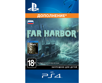 Fallout 4 - Far Harbor (����������) [PS4, ����� ��������� ����]