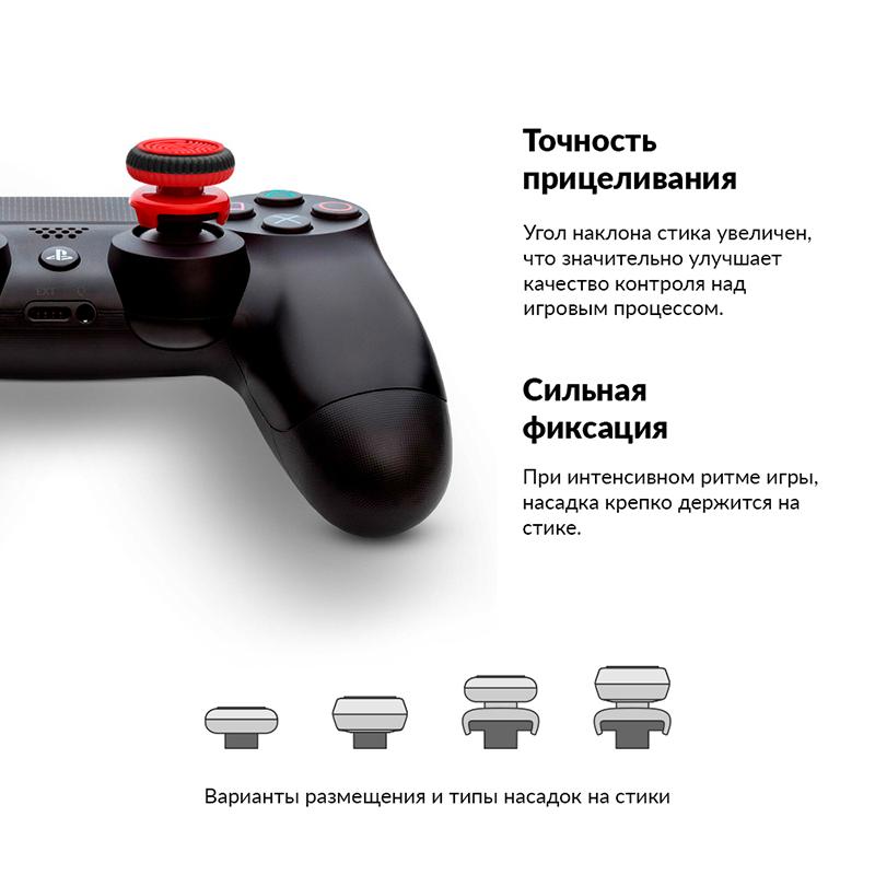 Накладки на стики геймпада PS4 Viking дополнительное изображение 2