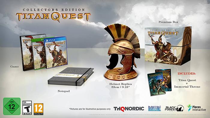 Titan Quest Collector Edition  Xbox One дополнительное изображение 1