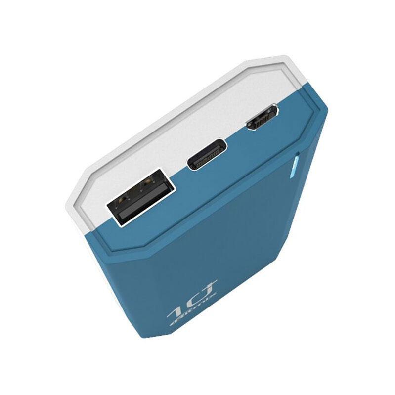 Внешиний аккумулятор Ritmix 10000 мАч дополнительное изображение 1