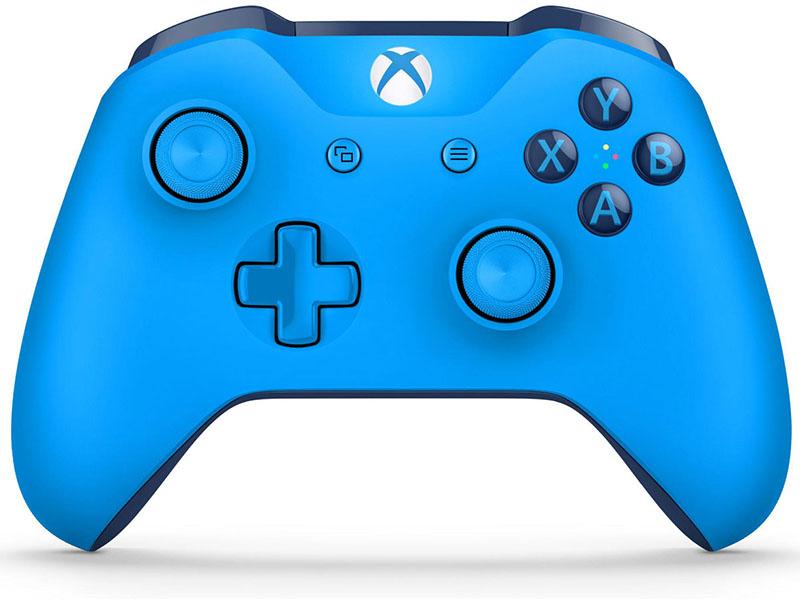 Беспроводной джойстик Xbox One Wireless Controller Blue дополнительное изображение 1