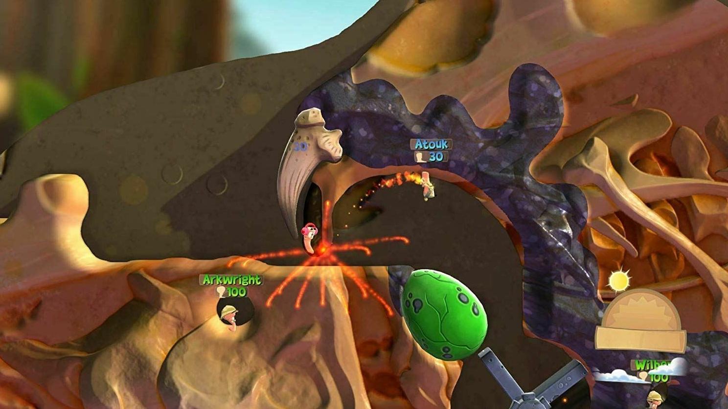 Worms Battleground и Worms W.M.D  PS4 дополнительное изображение 1