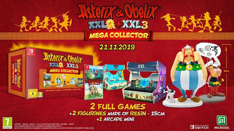 Asterix and Obelix XXL 2 и XXL 3 Mega Collector  Nintendo Switch дополнительное изображение 1