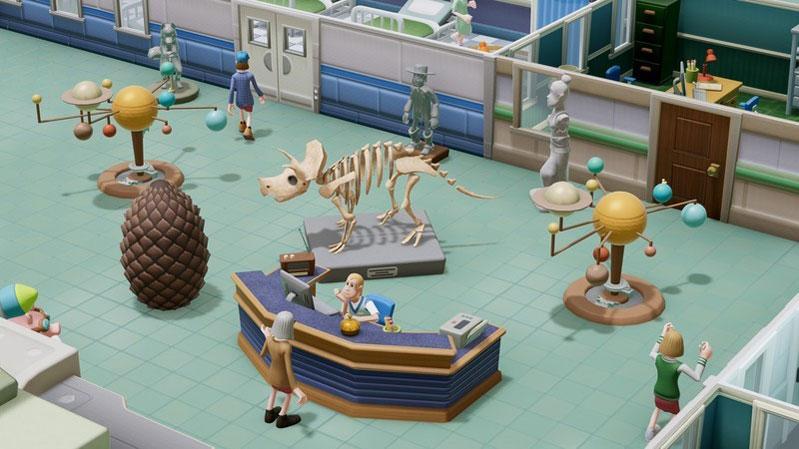 Two Point Hospital JUMBO Edition  PS4 дополнительное изображение 3