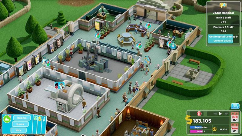 Two Point Hospital JUMBO Edition  PS4 дополнительное изображение 2