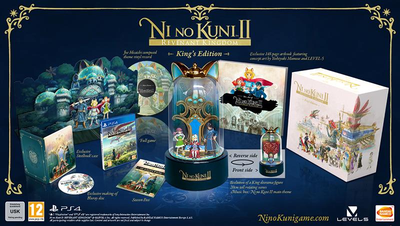 Ni no Kuni II Возрождение Короля King's Edition  PS4 дополнительное изображение 1