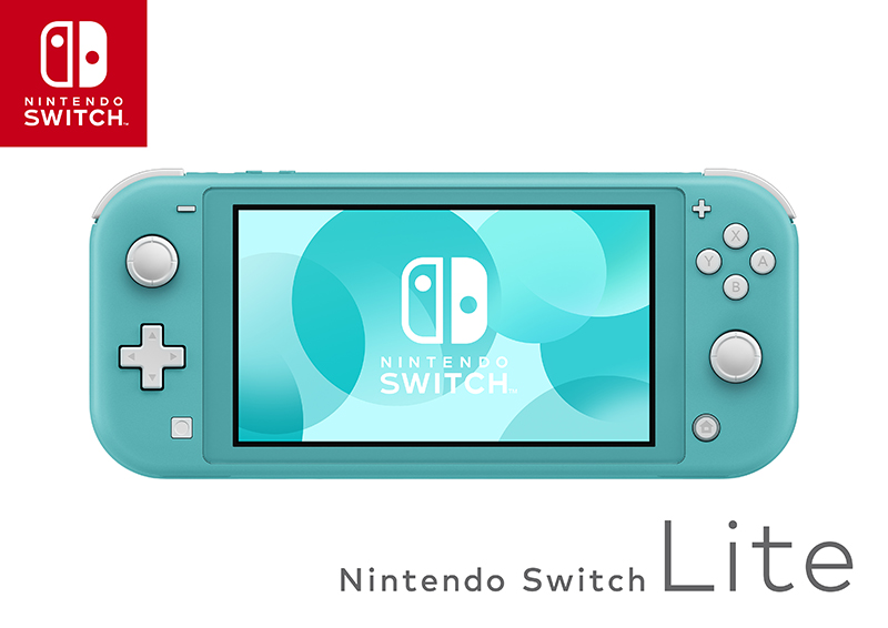 Nintendo Switch Lite  бирюзовый дополнительное изображение 1