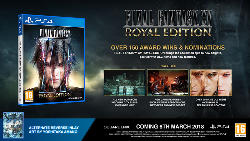 Final Fantasy XV Royal Edition  PS4 дополнительное изображение 1