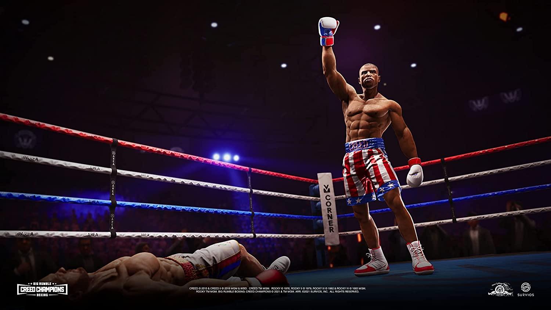 Big Rumble Boxing Creed Champions  PS4 дополнительное изображение 2