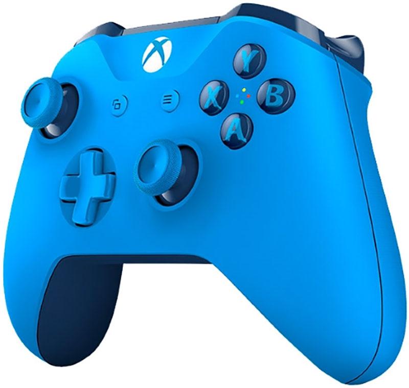 Беспроводной джойстик Xbox One Wireless Controller Blue дополнительное изображение 2