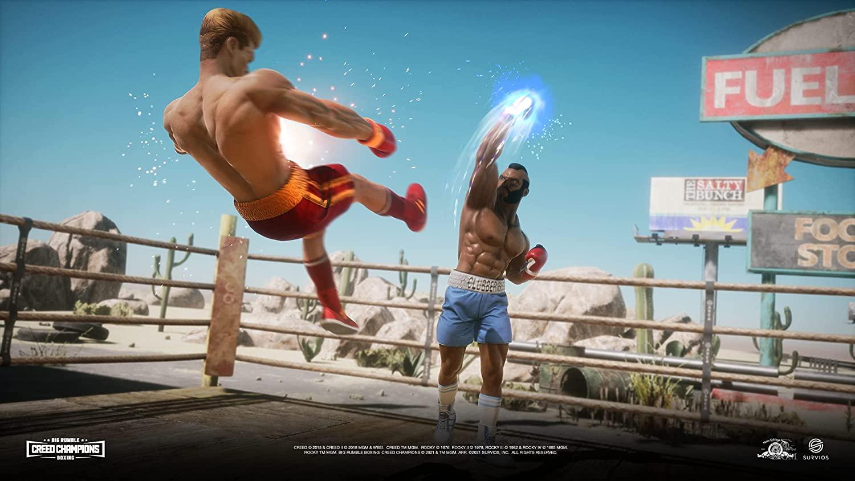 Big Rumble Boxing Creed Champions  PS4 дополнительное изображение 5