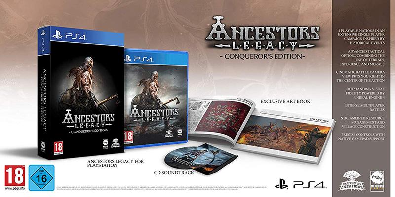 Ancestors Legacy Conqueror Edition  PS4 дополнительное изображение 1