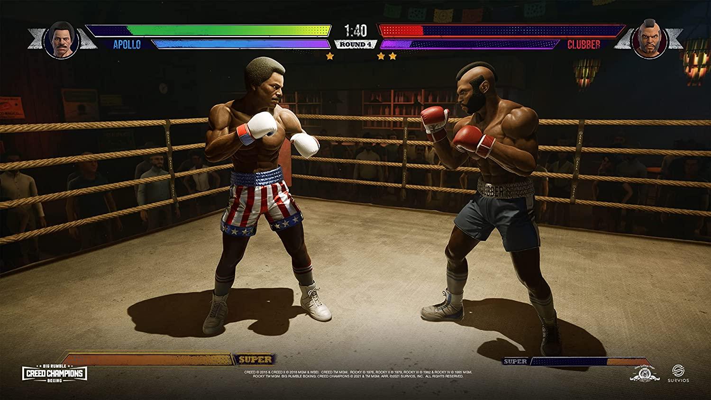 Big Rumble Boxing Creed Champions  PS4 дополнительное изображение 4