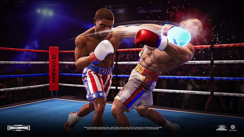 Big Rumble Boxing Creed Champions  PS4 дополнительное изображение 3