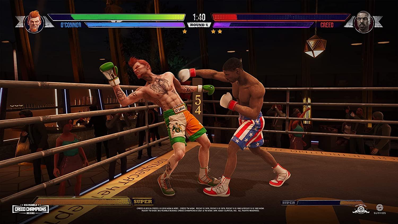 Big Rumble Boxing Creed Champions  PS4 дополнительное изображение 1