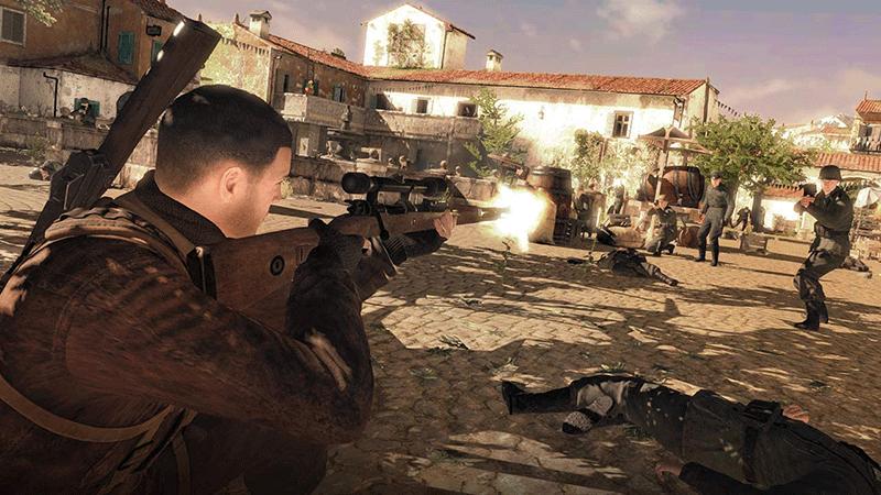 Sniper Elite 4  Nintendo Switch дополнительное изображение 3