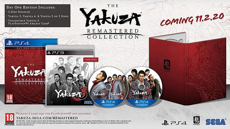 Yakuza Remastered Collection Day One Edition  PS4 дополнительное изображение 1