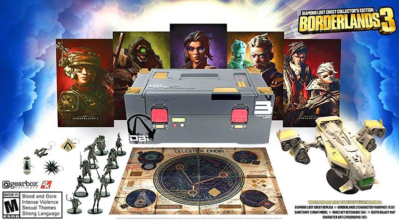 Borderlands 3 Diamond Loot Chest Collector Edition  PS4 дополнительное изображение 1