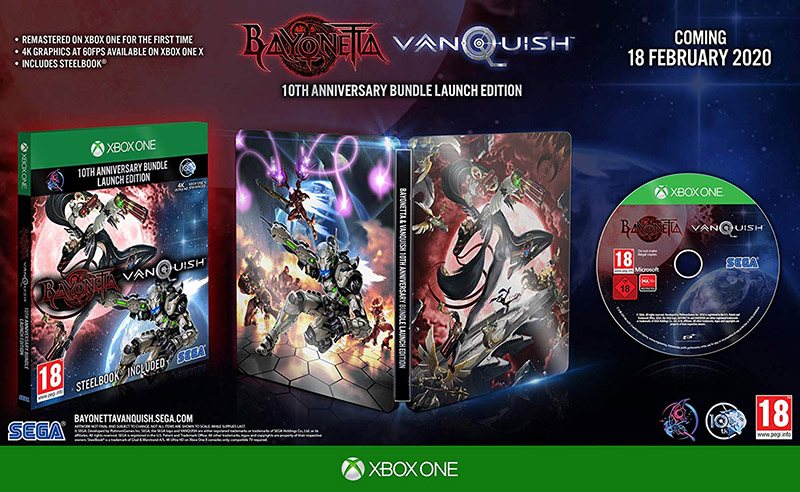 Bayonetta & Vanquish 10th Anniversary Bundle  Xbox One/Series X дополнительное изображение 1