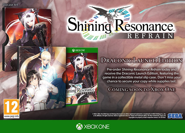 Shining Resonance Refrain Draconic Launch Edition  Xbox One дополнительное изображение 1