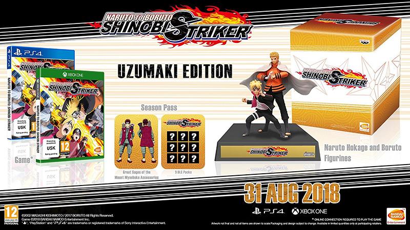 Naruto to Boruto Shinobi Striker Сollector Edition  Xbox One дополнительное изображение 1