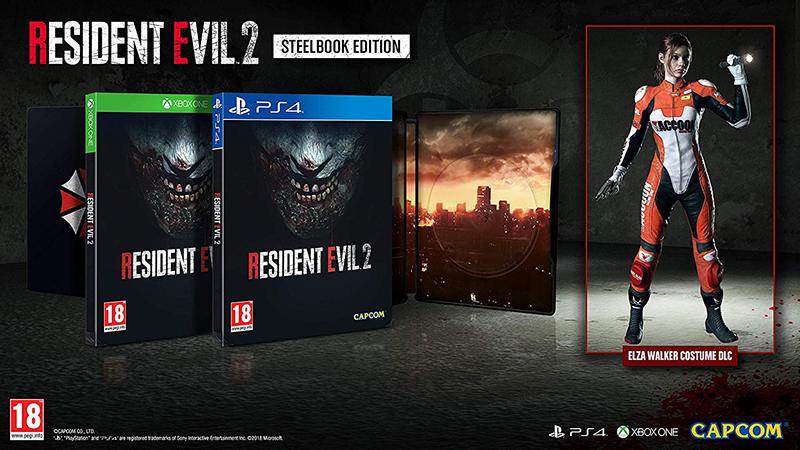 Resident Evil 2 Steelbook Edition  PS4 дополнительное изображение 1