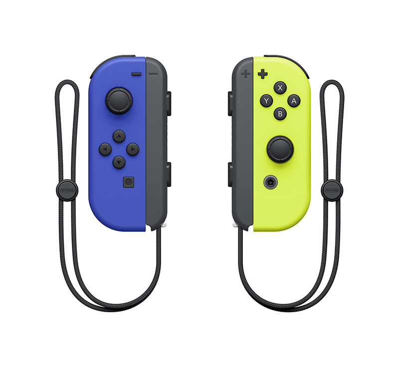 Геймпад Nintendo Joy-Con controllers Duo - Blue/Neon Yellow  Nintendo Switch дополнительное изображение 1