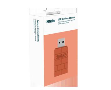 Адаптер 8BitDo Wireless USB Brick Brown