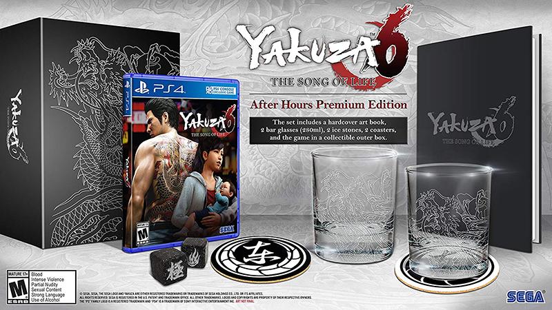 Yakuza 6 The Song of Life After Hours Premium Edition US PS4 дополнительное изображение 1