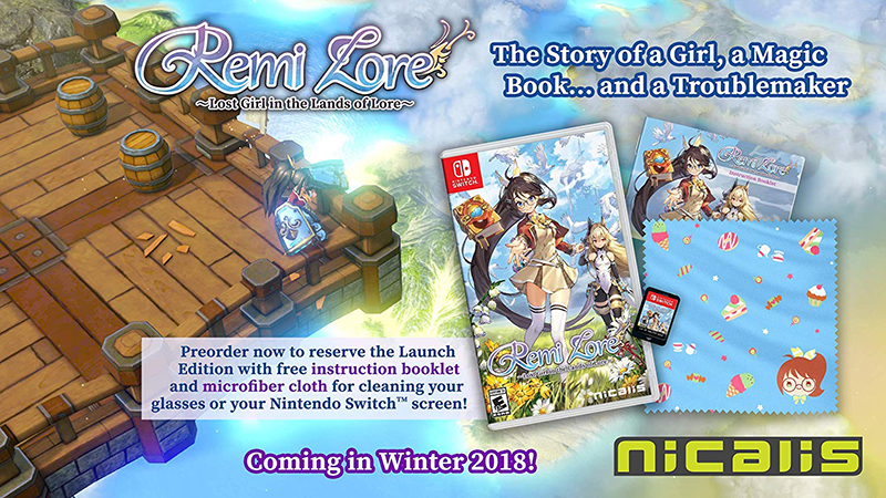 RemiLore Lost Girl in the Lands of Lore  Nintendo Switch дополнительное изображение 1