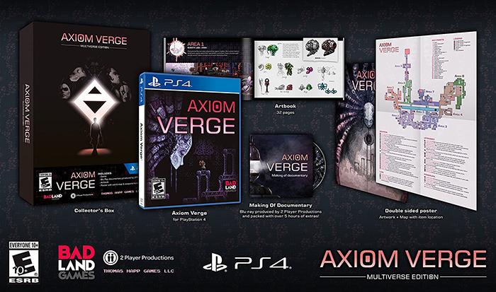 Axiom Verge Multiverse Edition  US PS4 дополнительное изображение 1