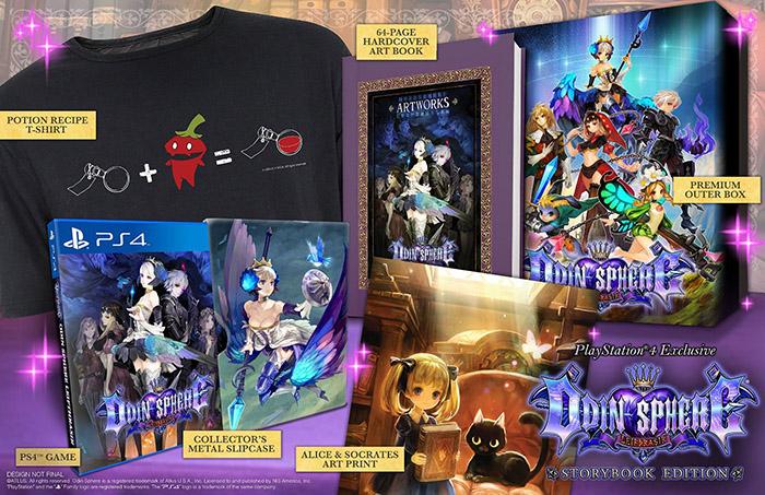 Odin Sphere Leifthrasir Storybook Edition  PS4 дополнительное изображение 1