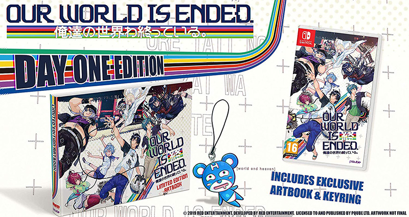 Our World Is Ended Day One Edition  Nintendo Switch дополнительное изображение 1
