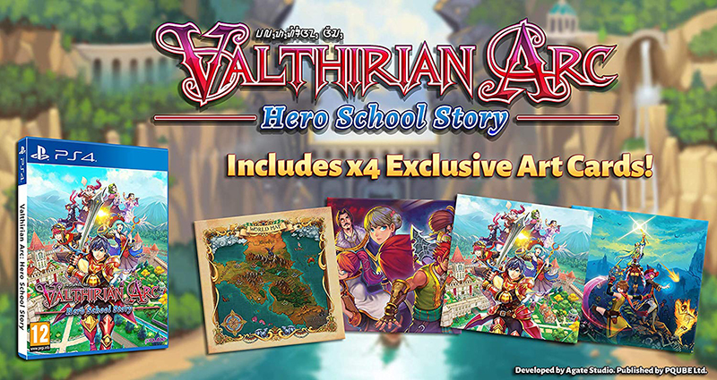 Valthirian Arc Hero School Story  Русская верси PS4 дополнительное изображение 1