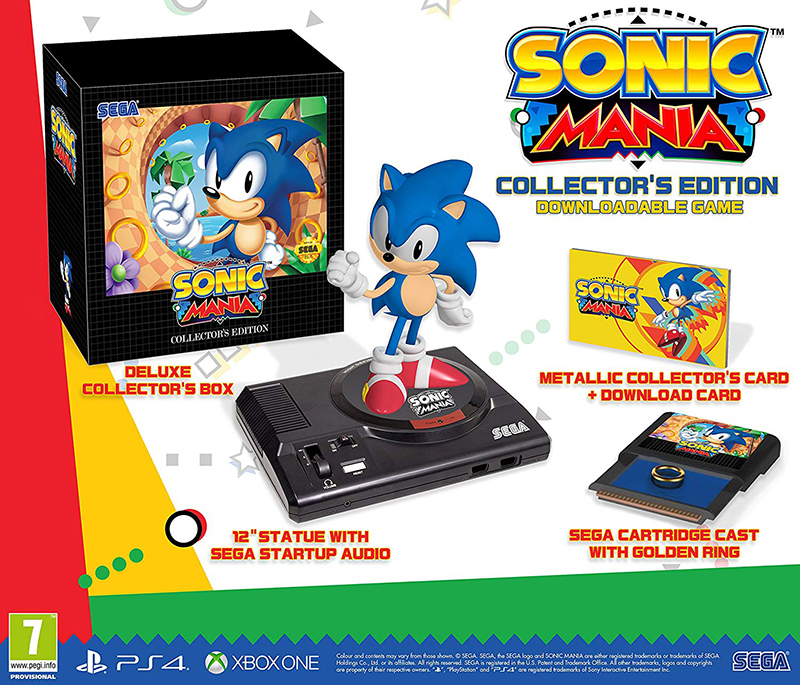 Sonic Mania Collectors Edition  PS4 дополнительное изображение 1