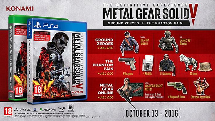 Metal Gear Solid V The Definitive Experience  PS4 дополнительное изображение 1