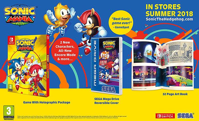Sonic Mania Plus  Nintendo Switch дополнительное изображение 1