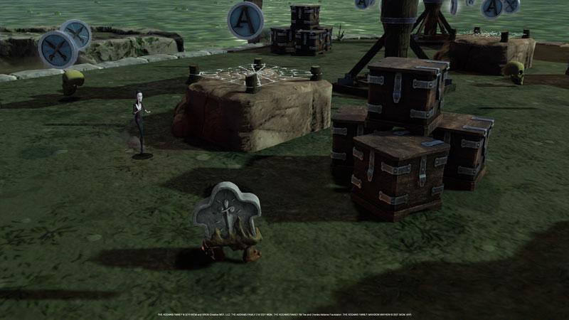 Семейка Аддамс Переполох в особняке  Addams Family Xbox One/Series X ПРЕДЗАКАЗ дополнительное изображение 2