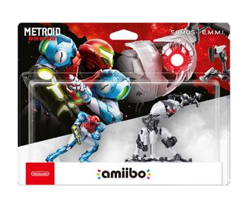 Комплект аmiibo Самус Аран и E.M.M.I [коллекция Metroid] ПРЕДЗАКАЗ!