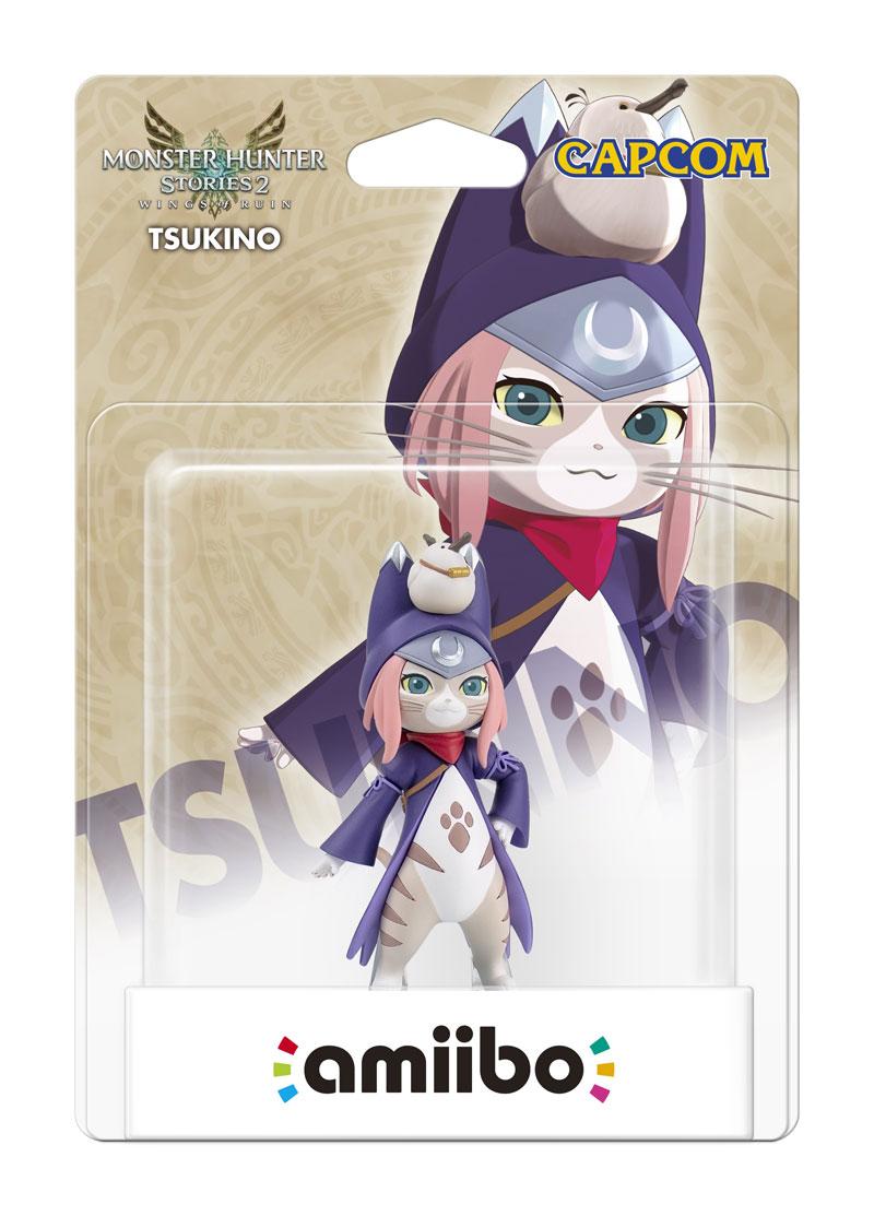 amiibo Tsukino коллекция Monster Hunter дополнительное изображение 1