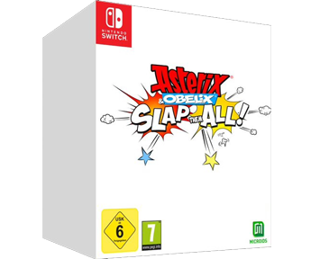 Asterix and Obelix Slap Them All Collectors Edition (Русская версия)(Nintendo Switch) ПРЕДЗАКАЗ!