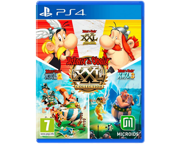 Asterix And Obelix XXL Collection [1,2,3](Русская версия)(PS4)
