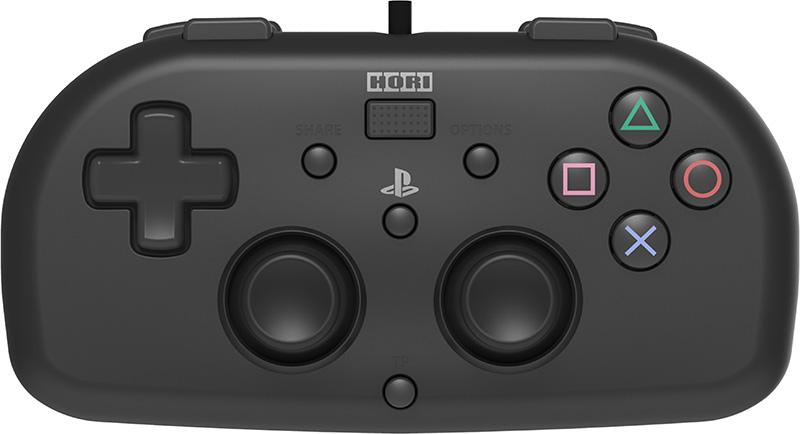 Проводной геймпад HORI HORIPAD MINI BLACK PS4 дополнительное изображение 1