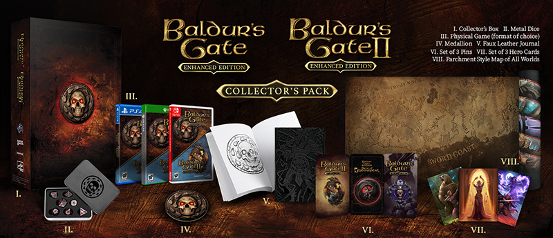 Baldur Gate Enhanced Edition Collectors Pack  Xbox One дополнительное изображение 1