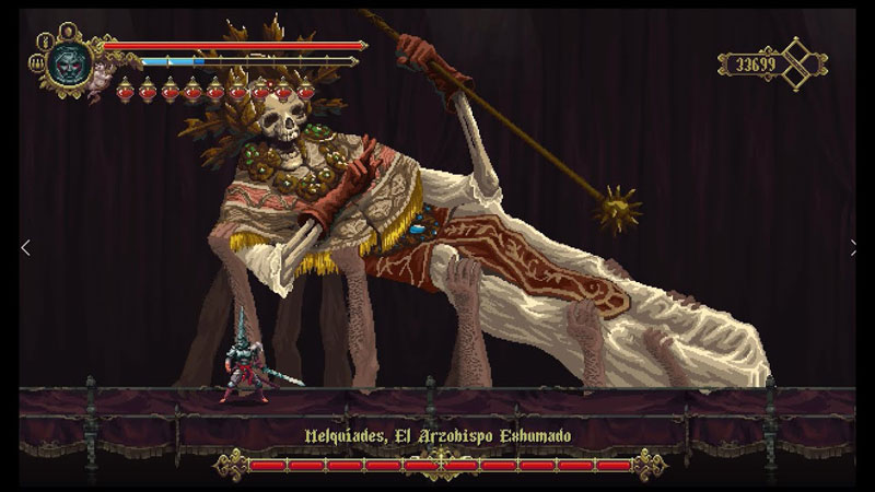 Blasphemous Deluxe Edition  PS4 дополнительное изображение 1