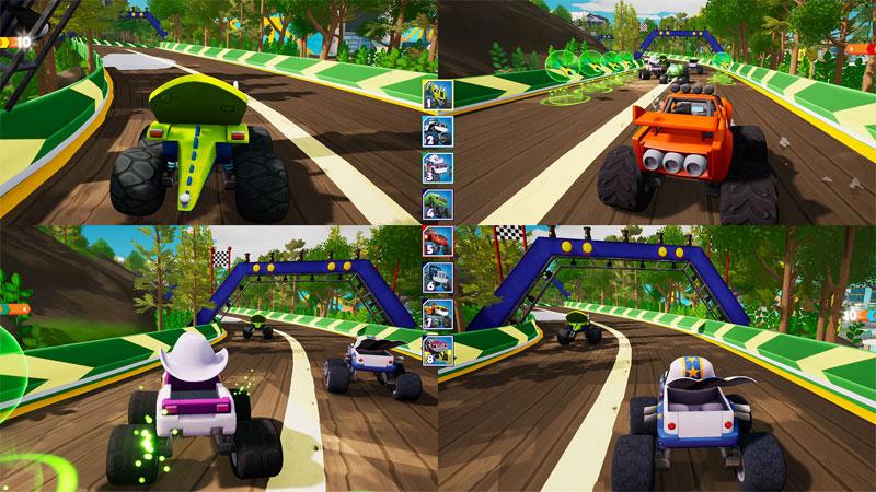 Вспыш и чудо-машинки Гонщики Эксл Сити  PS4  дополнительное изображение 1