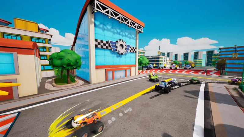Вспыш и чудо-машинки Гонщики Эксл Сити  PS4  дополнительное изображение 2