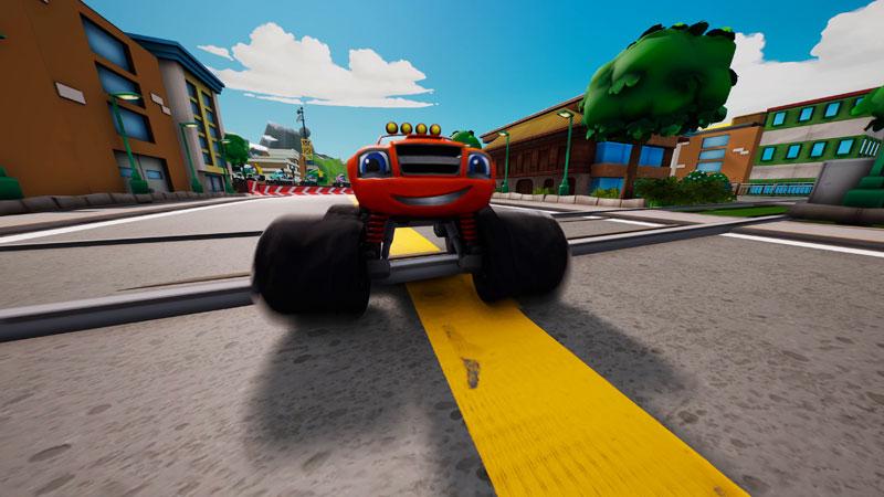Вспыш и чудо-машинки Гонщики Эксл Сити  PS4  дополнительное изображение 3